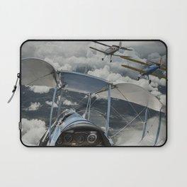 Biplane squadron Laptop Sleeve