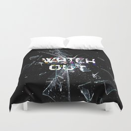Smashed Glass Duvet Cover