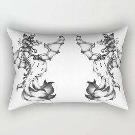 Sea-dragon Female  Rectangular Pillow