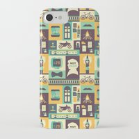 risa rodil iPhone & iPod Cases featuring Empty Hearse by Risa Rodil
