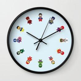 Really Super Marios Wall Clock