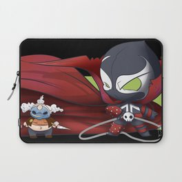 Spawn and Clown chibi Laptop Sleeve