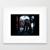 persian Framed Art Prints featuring Persian Fantasy by Artworks by PabloZarate Inc.
