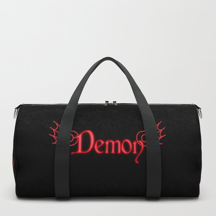 Demon with Wings Duffle Bag