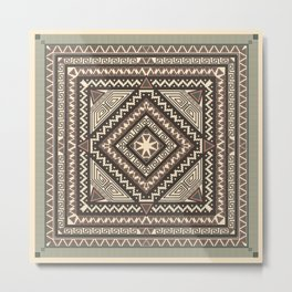 Decoration form Geometric Metal Print