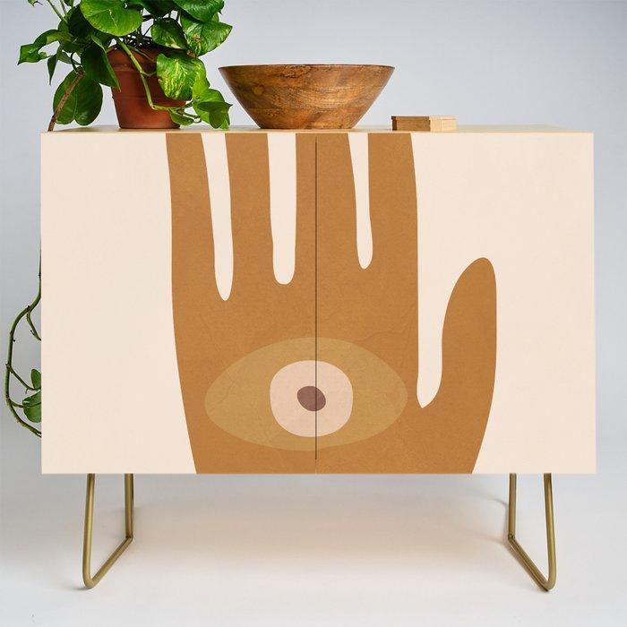 Hamsa Hand Credenza