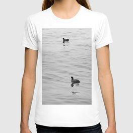 birds on water T-shirt