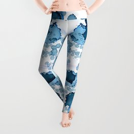 Underwater Dreams | Ink Splash Leggings
