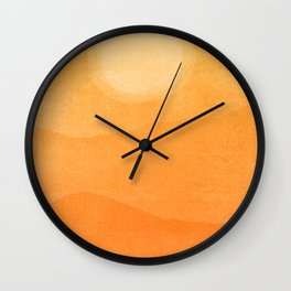 Abstract Afternoon Landscape Wall Clock