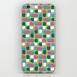 Colorful pills iPhone Skin