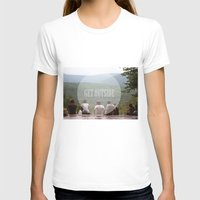 hiking T-shirts featuring Hiking Gang by Jessica Krzywicki