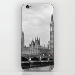 Buses on Westminster Bridge iPhone Skin