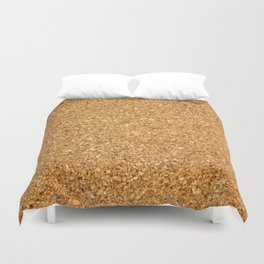 cork board Duvet Cover