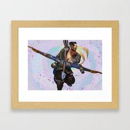 Sakura Hanzo Framed Art Print