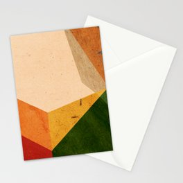 color blocks #3 Stationery Cards