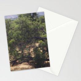 Tree Growing Sideways Stationery Cards