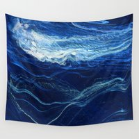 pocket Wall Tapestries featuring pocket weather by j.Webster