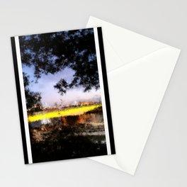 Beautiful Brisbane City - Victoria Bridge Digital Painting Stationery Cards