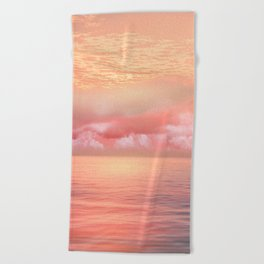 Pastel vibes 55 Beach Towel