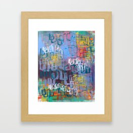 We Are All Divine Framed Art Print