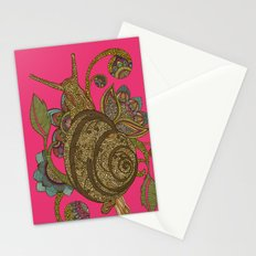 Escargopolooza Stationery Cards