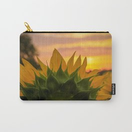 Sunflower at Sunrise Carry-All Pouch