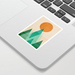 No mountains high enough Sticker