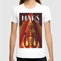 mars T-shirts featuring Mars by Emanuel Afonso