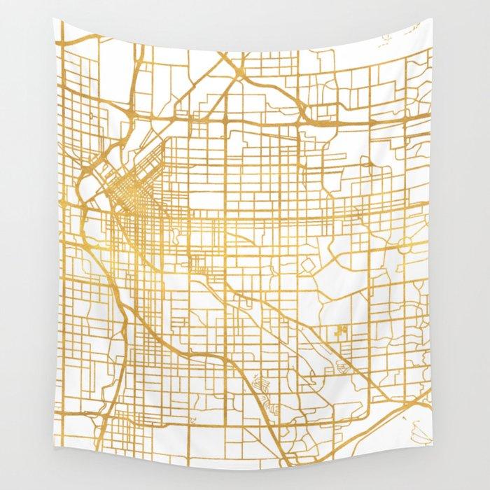Colorado Map Art.Denver Colorado City Street Map Art Wall Tapestry By Deificusart