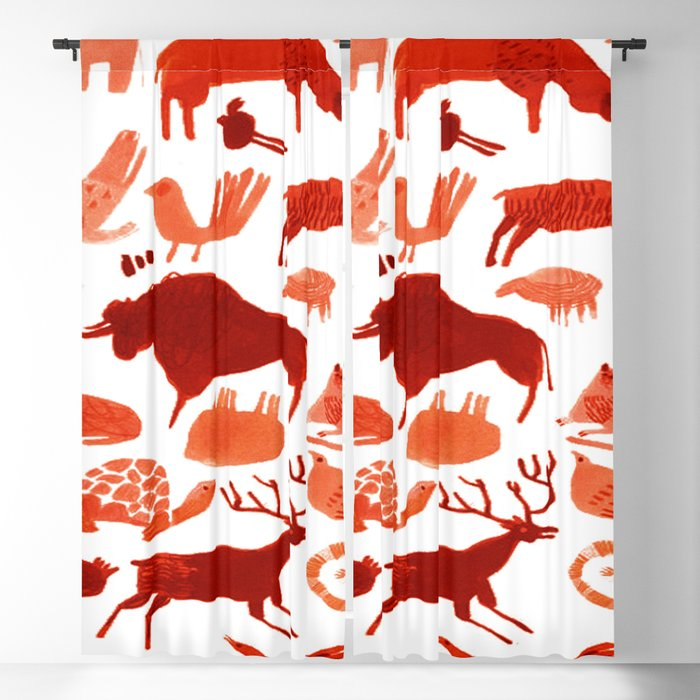 Animals Blackout Curtain