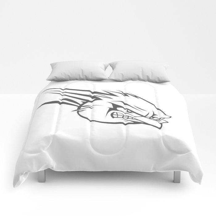 Angry Bird cartoon Comforters