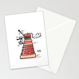 Espresso Invaders Stationery Cards