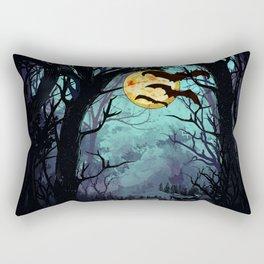 night bat Rectangular Pillow