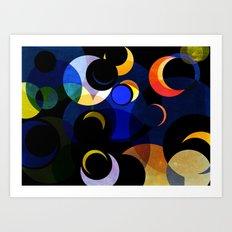 STARRY NIGHT 2 Art Print