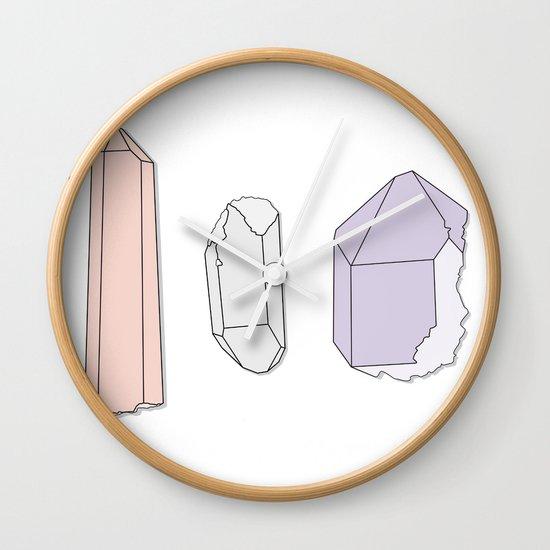 Crystals Trio Wall Clock