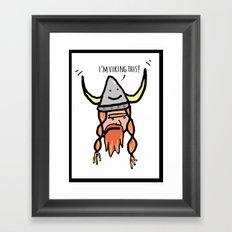 Viking Framed Art Print