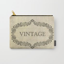 Vintage Page Carry-All Pouch