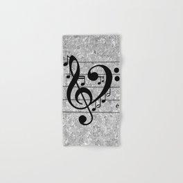Love Music Hand & Bath Towel