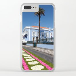 Palace in Azores Clear iPhone Case