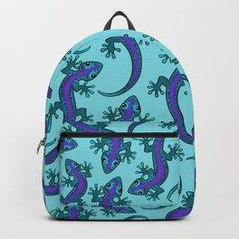 Gecko Print Megh Backpack