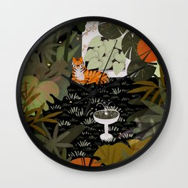 Jungle #1 Wall Clock