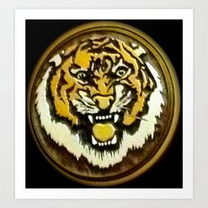 LSU Tiger Art Print