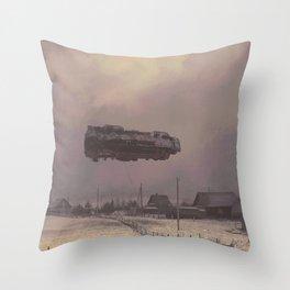 STAR TAXI Throw Pillow