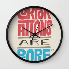 Romney: Corporations Are People Wall Clock