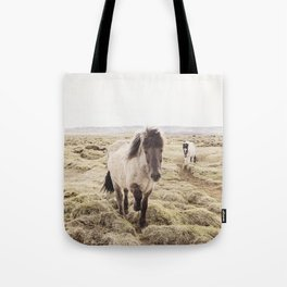 Horse Photograph in Color Tote Bag
