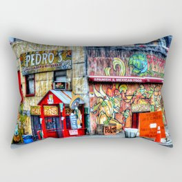 Mexican  Bar Rectangular Pillow