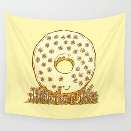 In Bloom Donut Wall Tapestry