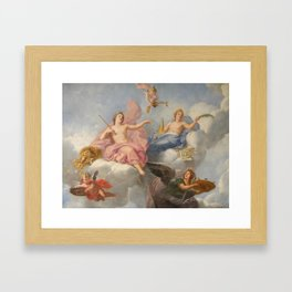 Classical Figures Framed Art Print