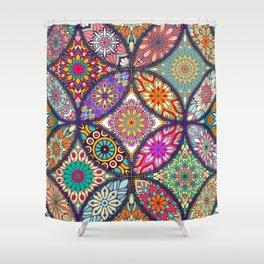 Colorful Mandala Duschvorhang
