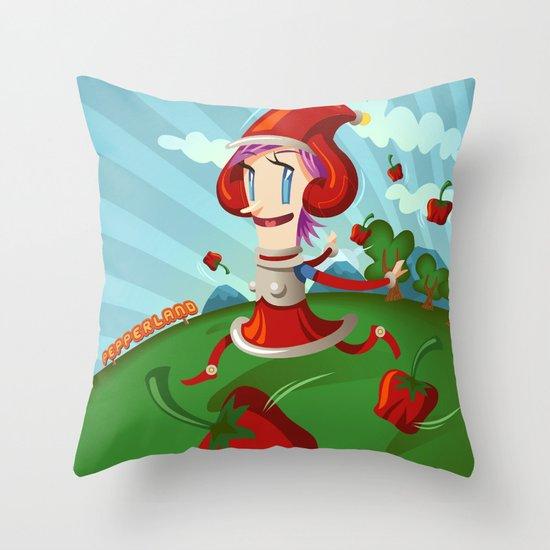 PepperLand Throw Pillow